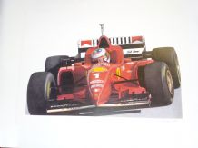 MICHAEL SCHUMACHER Ferrari F310  by Nick Curry
